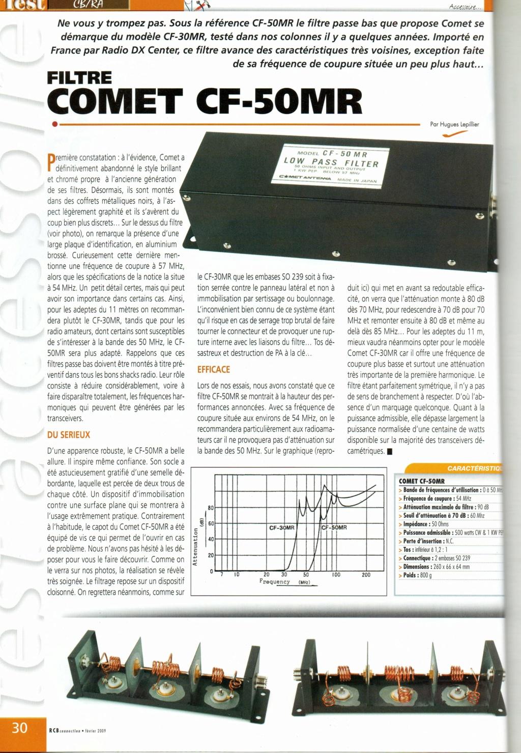 Passe-Bas - Comet Antenna CF - 50 MR (Filtre passe bas) Img78410