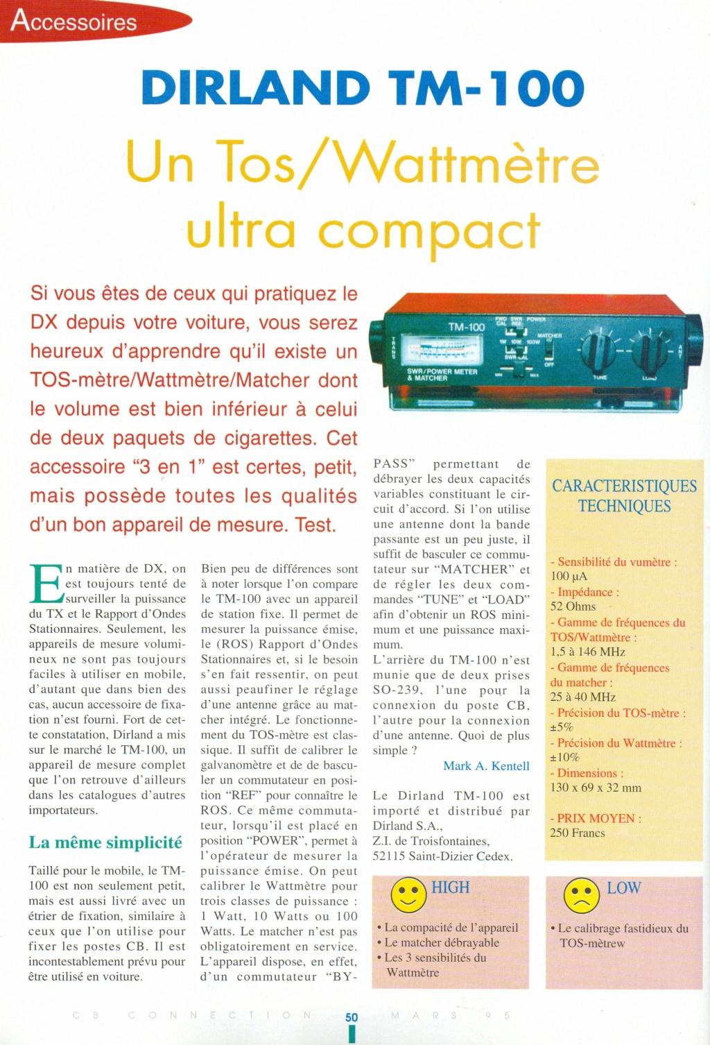 EuroCB TM-100 (Tos-mètre / Watt-mètre / Matcher) Img92110
