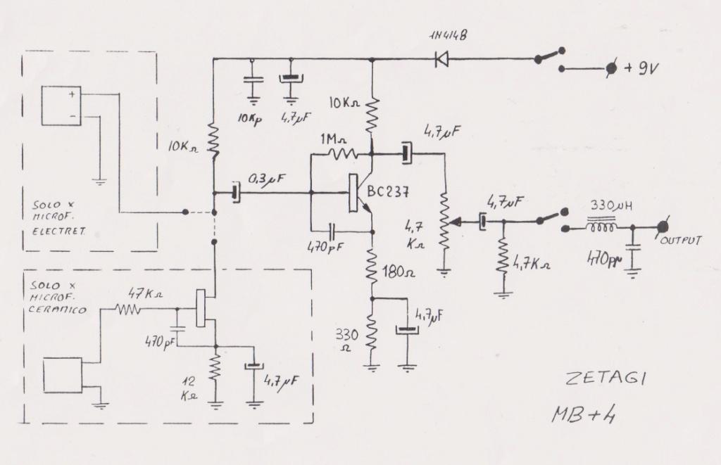 Zetagi MB+4 (Micro de table) Mb-410