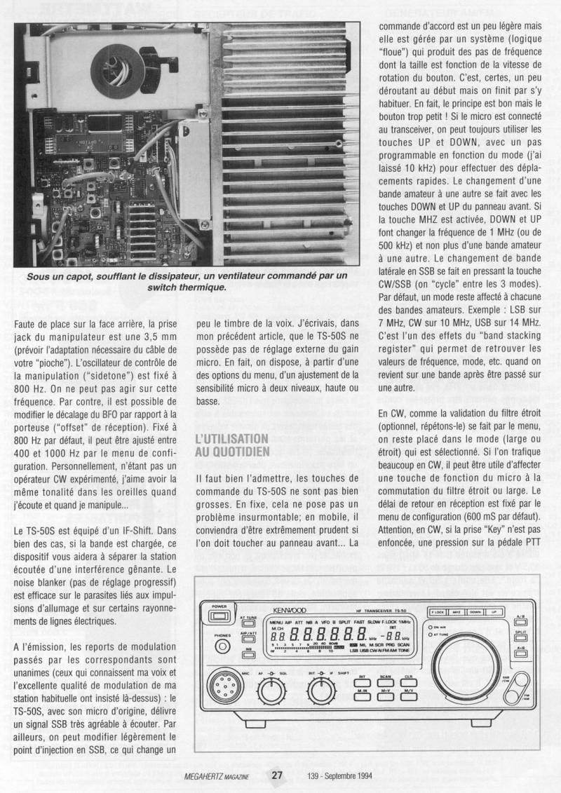 Kenwood TS-50 Mhz13910