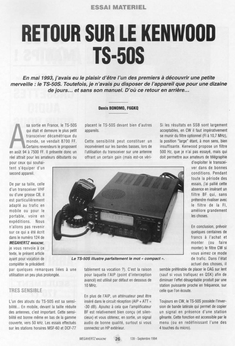 Kenwood TS-50 Mhz13912