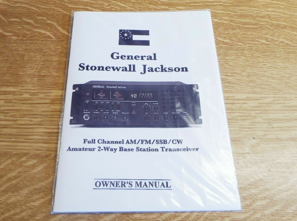 General Stonewall Jackson (Base) S-l11759
