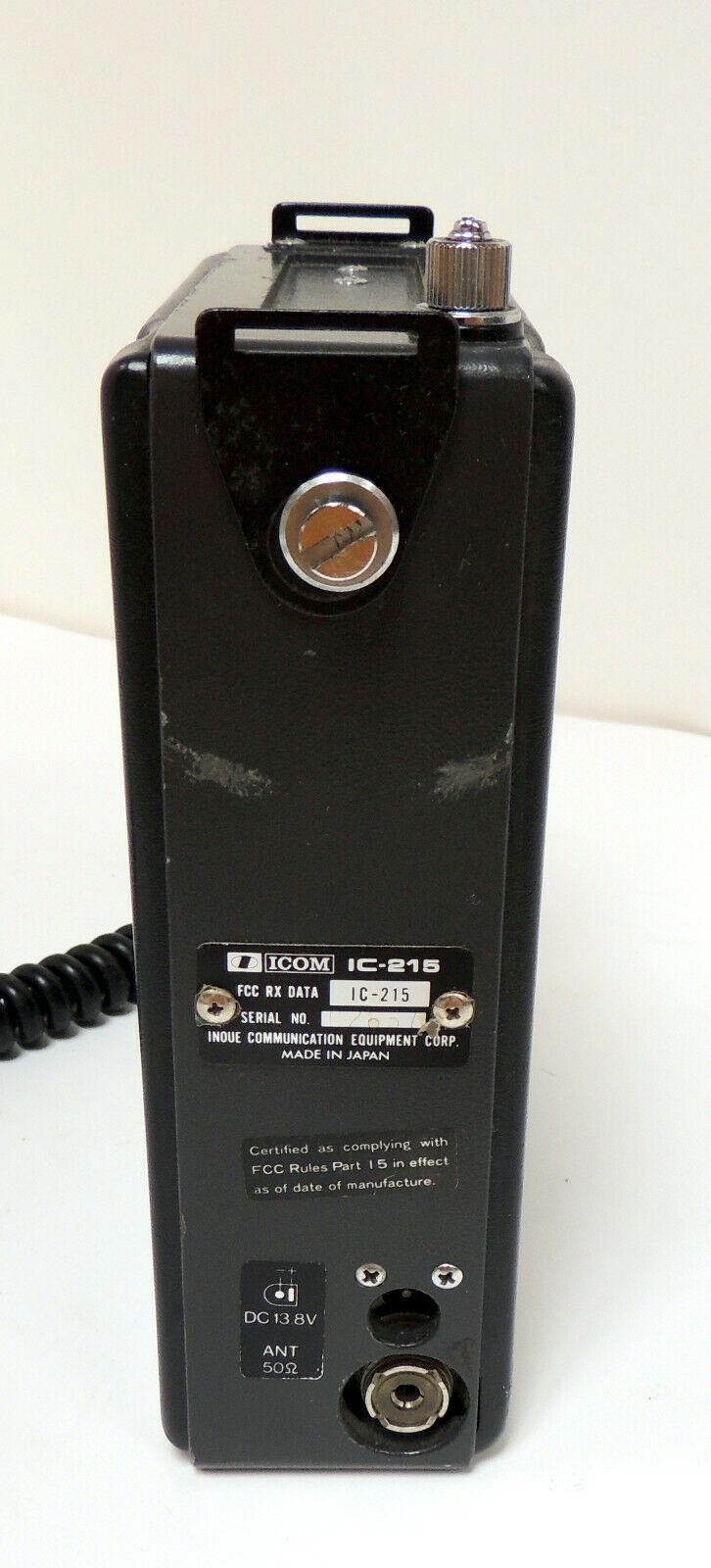 Icom IC-215 (Portable (Vintage) S-l12115