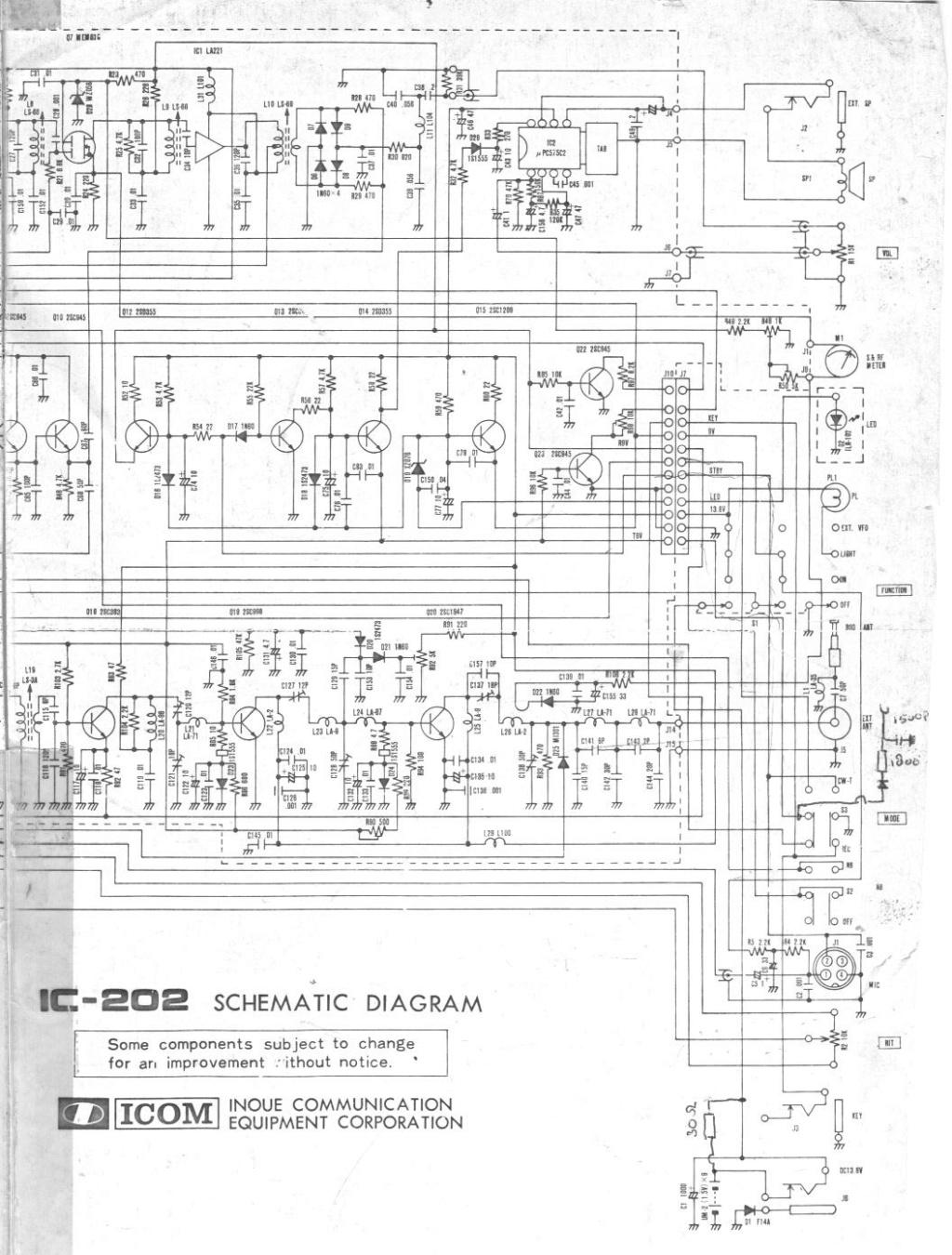 Icom IC-202E (Portable (Vintage) Schema46