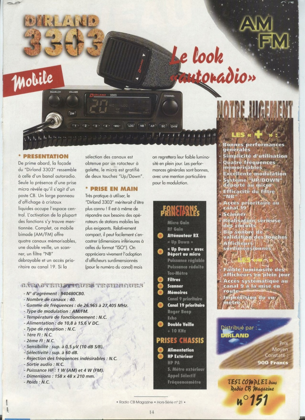 C.B. Magazine - Radio C.B. Magazine (Magazine (Fr.) - Page 8 Test_310