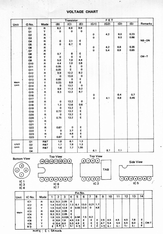 Icom IC-202E (Portable (Vintage) Voltag10