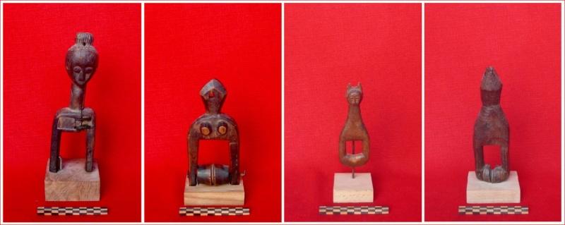 Etrier  pour poulie de métier à tisser Sénoufo représentant un calao Afriqu13