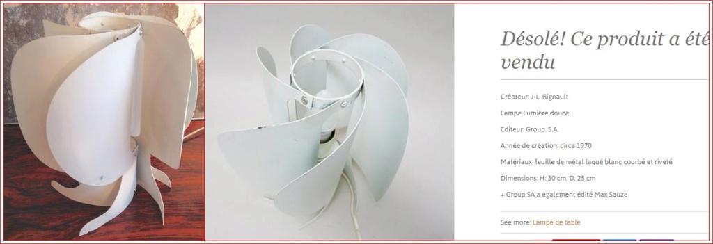 "Lampe ""Turbine"" - Max SAUZE - Group S.A. - 1974 Captur11"