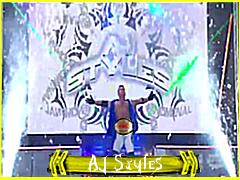 AJ Styles et son 1er match a RAW . 13483210