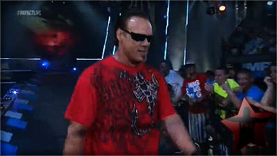Sting nous parle de son ascension a SmackDownImpact et de son match contre Jeff Hardy. 0310