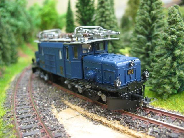 """Superbe loco du RhB """" la crocodile"""" du Glacier Express Ma_sci13"""