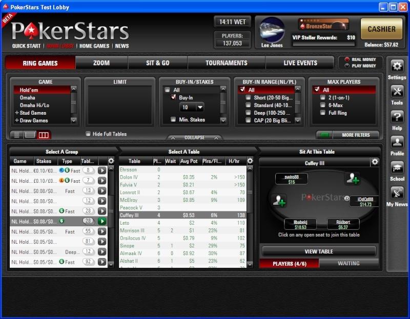 PokerStars se prépare à mettre un nouveau costume Pokers10