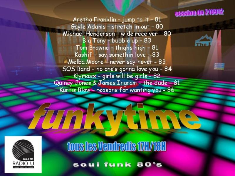émission FUNKYTIME sur RADIO U 101.1 Funkyt13
