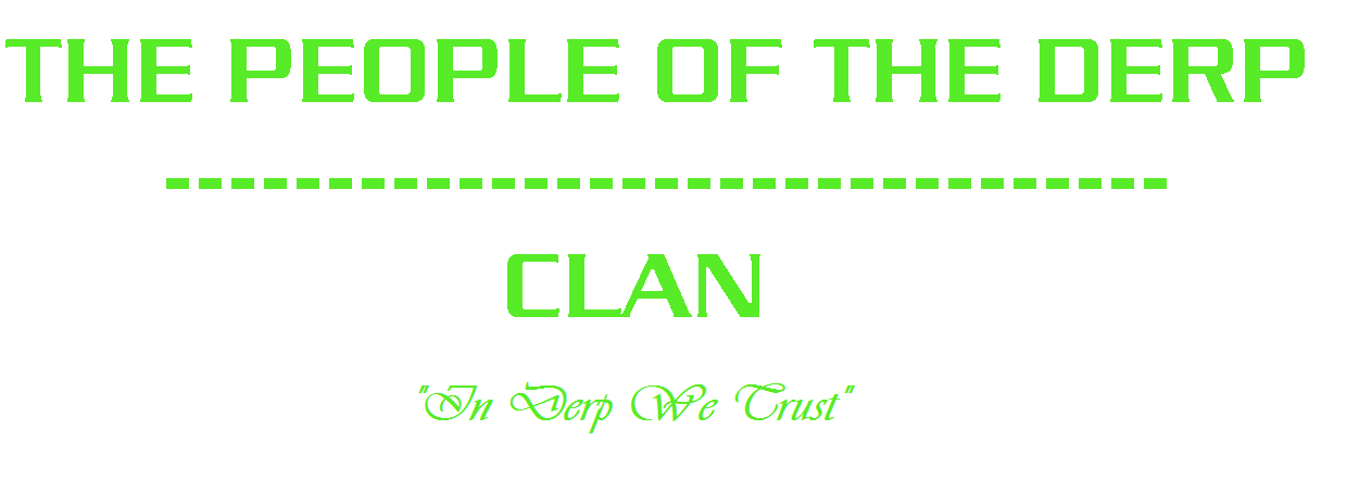 People of the Derp Clan