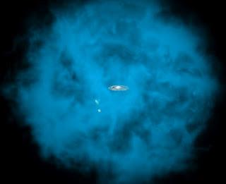 Descubren que nuestra galaxia está dentro de un halo de gas Halo_g10