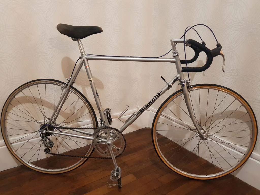 Restauration Bianchi environ 1970 20181110