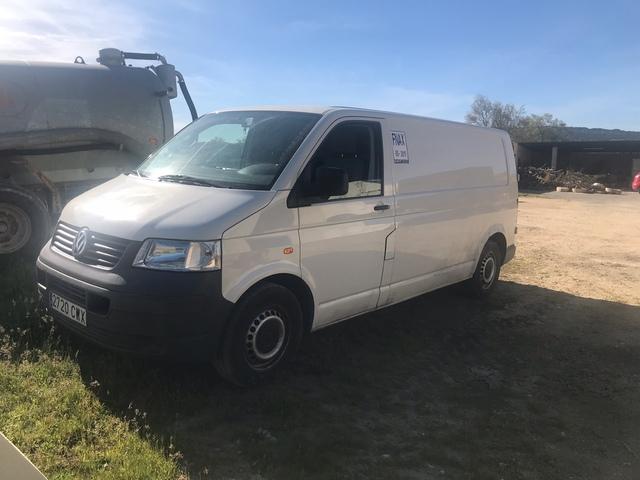 Furgoneta Volkswagen transporter isotérmo 30363811