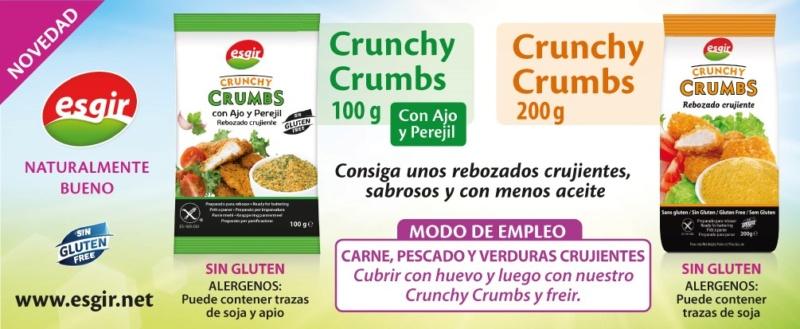 Pan crujiente de maiz /Crunchy crumbs _crunc10