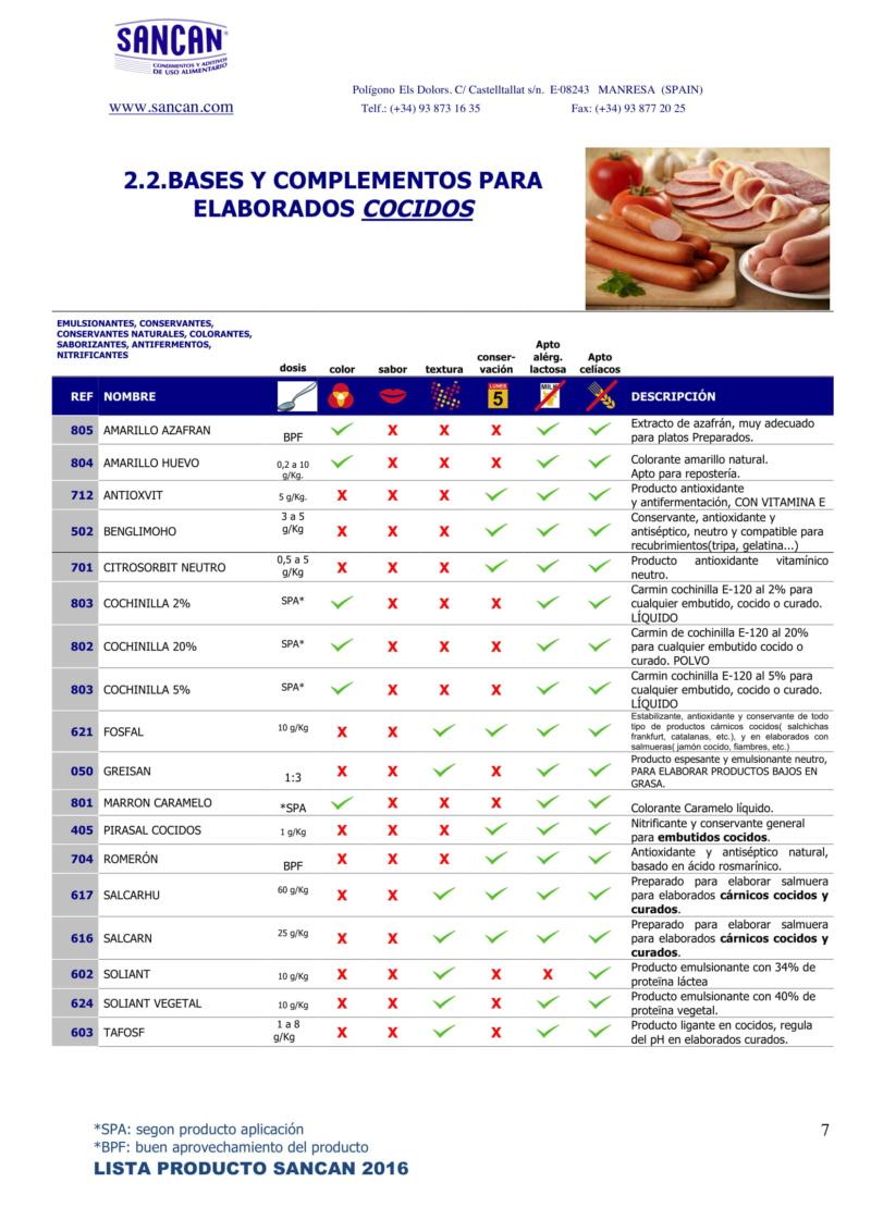 preparados para para elaborados frescos, cocidos, curados y cocinados Catalo17