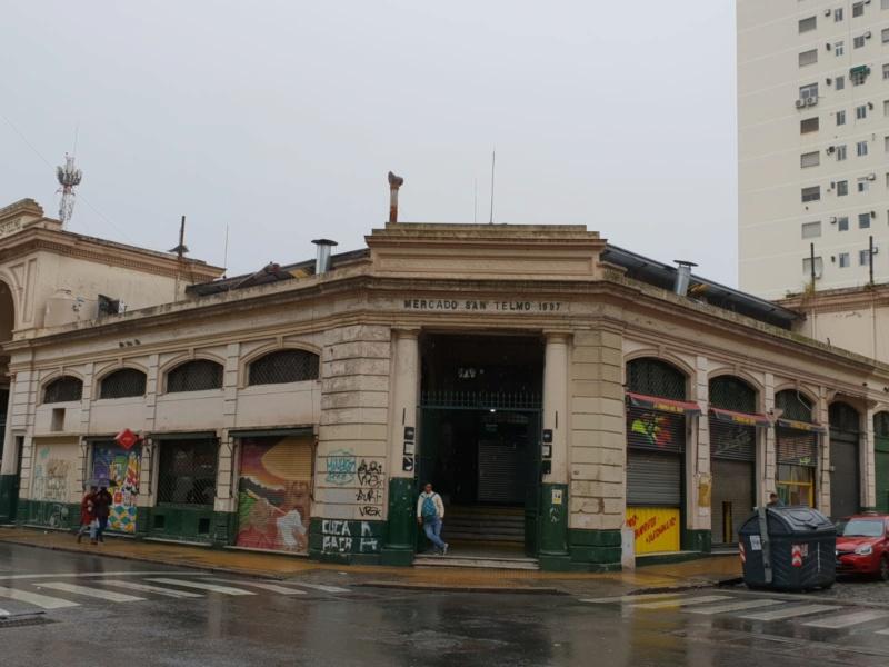 Mercado de san telmo (buenos aires)  Img-2010