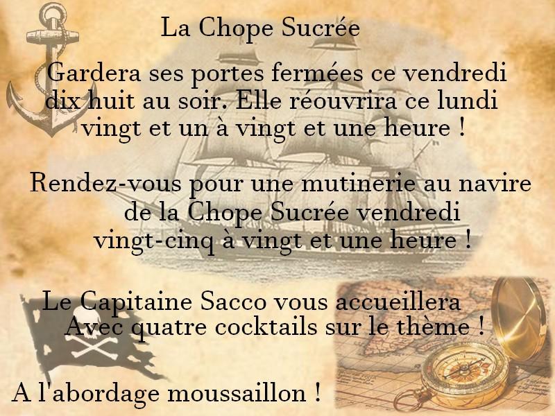 ~ La Chope Sucrée - Les Annonces ~ Affich11