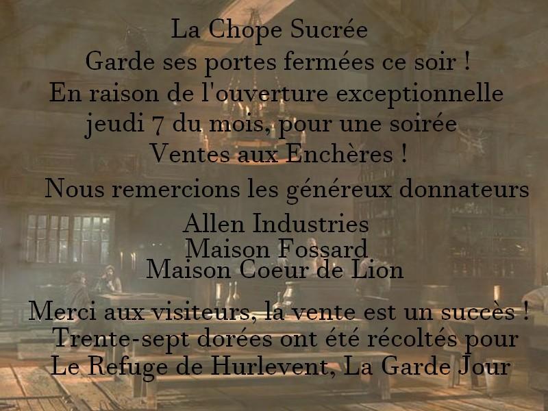 ~ La Chope Sucrée - Les Annonces ~ Affich12