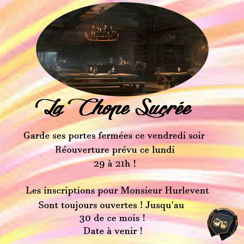 ~ La Chope Sucrée - Les Annonces ~ Fermet12