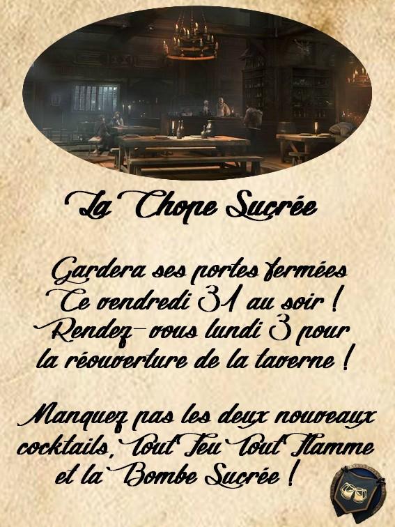 ~ La Chope Sucrée - Les Annonces ~ Fermet13