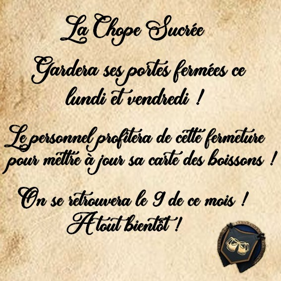 ~ La Chope Sucrée - Les Annonces ~ - Page 3 Fermet18