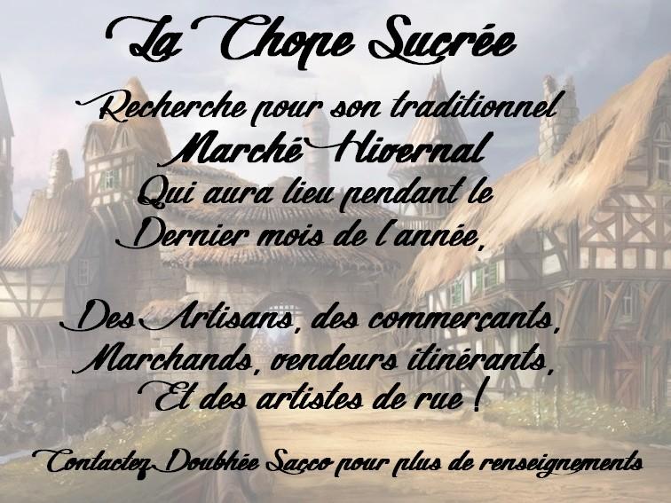 Marché Hivernal An 40  Marchz14