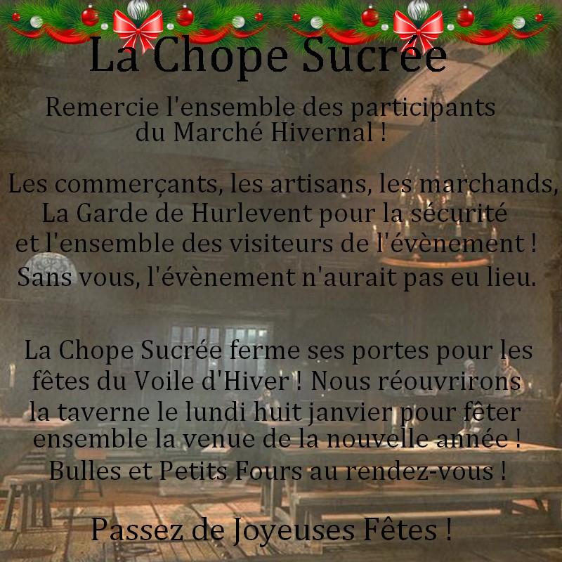 ~ La Chope Sucrée - Les Annonces ~ Remerc10