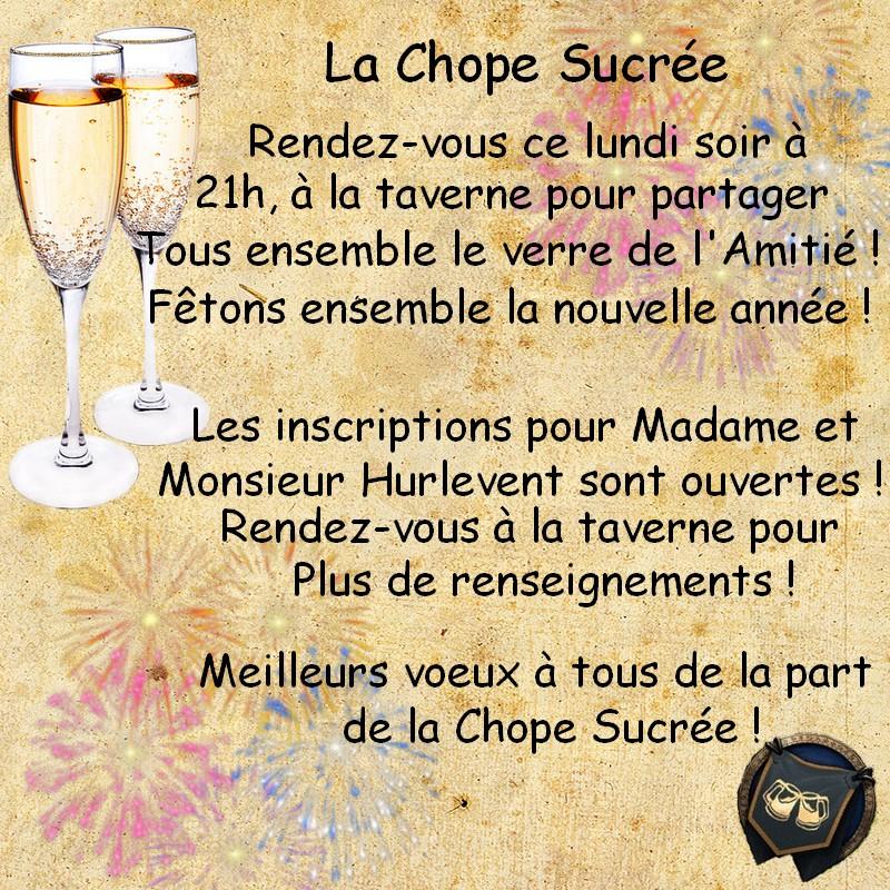 ~ La Chope Sucrée - Les Annonces ~ Tavern10