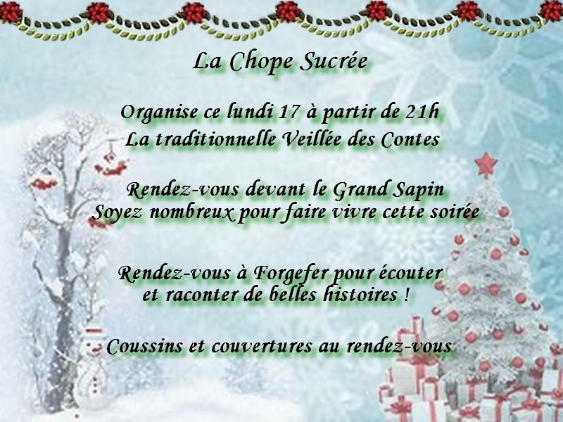 ~ La Chope Sucrée - Les Annonces ~ Veillz12