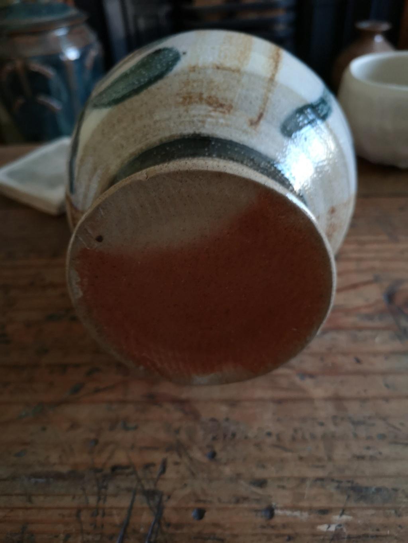 Large salt glazed stoneware Jug Img_2024