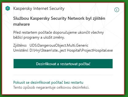 [RESOLVED] Kaspersky threat - malware detected Bez_nz10