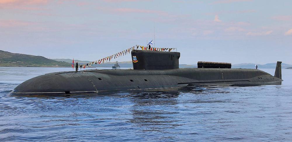 """K-535 Yuri Dolgoruky """"Boreï"""" 1/350 BRONCO Models 14925310"""