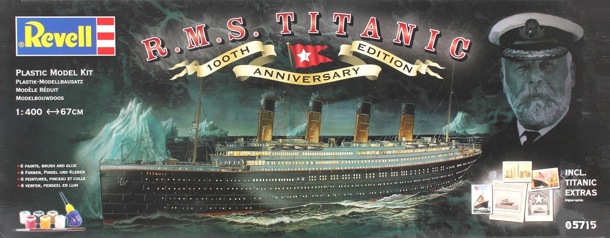 RMS Titanic, lequel choisir ?  410