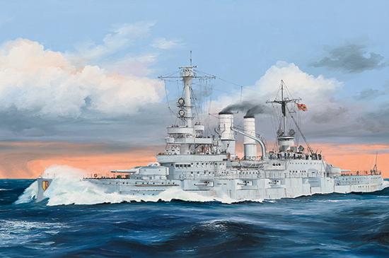 Schleswig – Holstein Battleship TRUMPETER 1/350 5bd95810