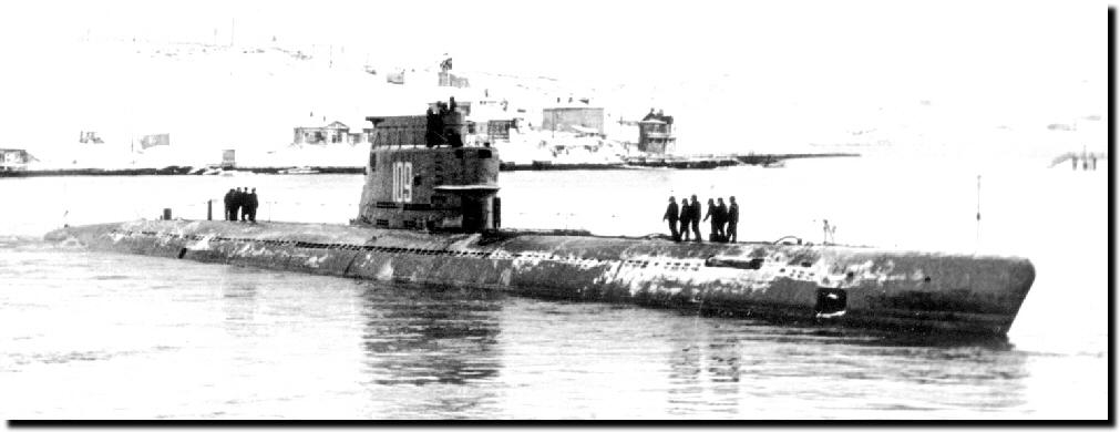 Sous-marin Soviétique Classe ZULU (project 611) 1/350 611_1010