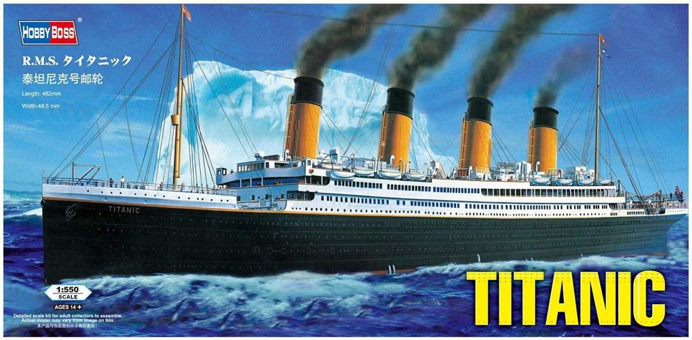 RMS Titanic, lequel choisir ?  71ovfs10