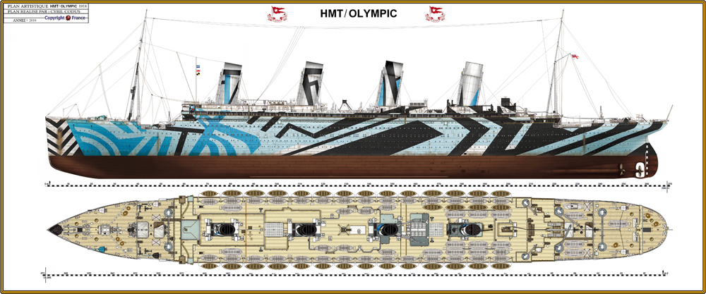 RMS Olympic 91676110