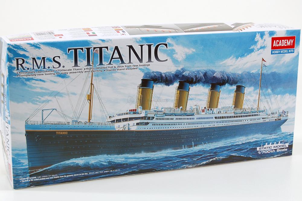 RMS Titanic, lequel choisir ?  Academ11