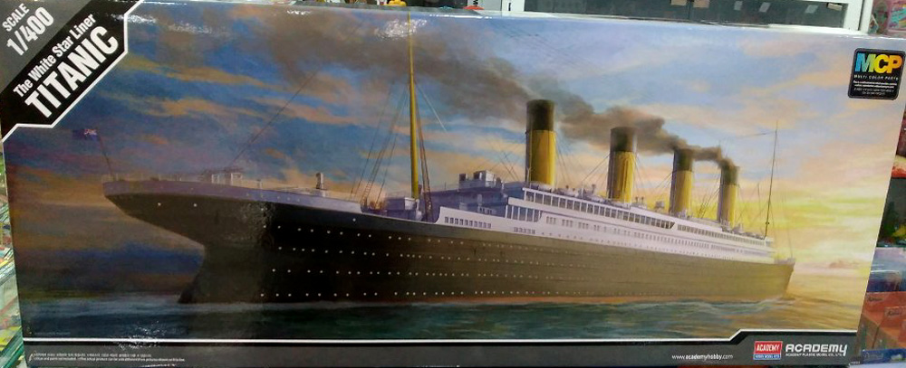 RMS Titanic, lequel choisir ?  Academ12