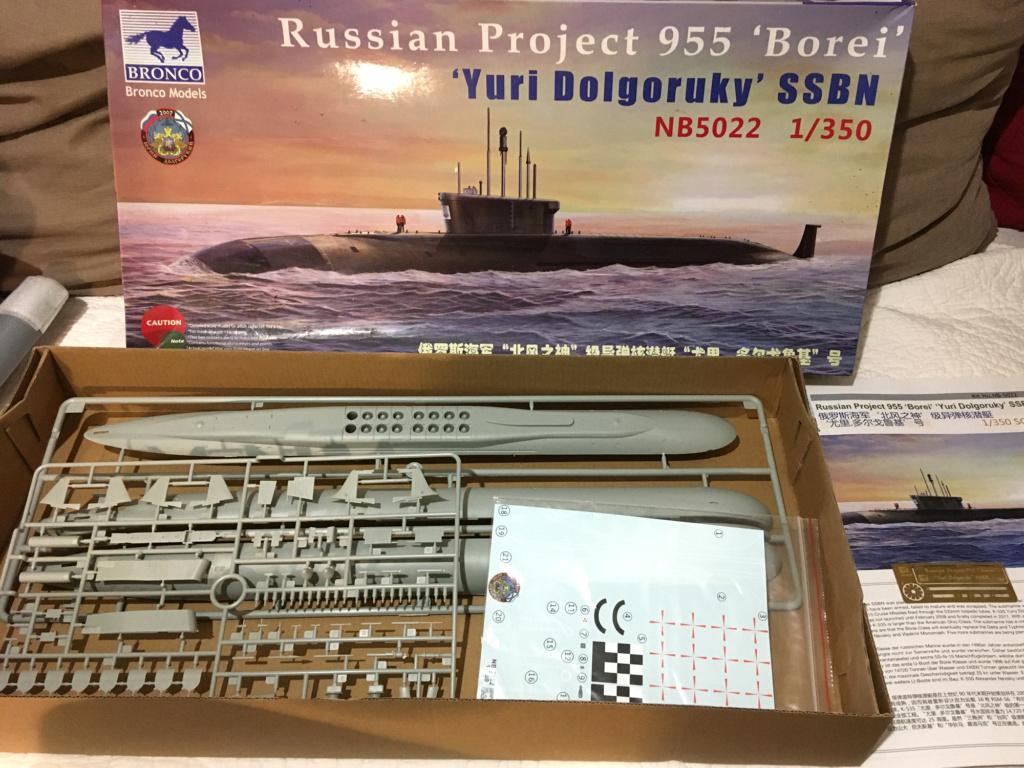 "K-535 Yuri Dolgoruky ""Boreï"" 1/350 BRONCO Models Borezc10"