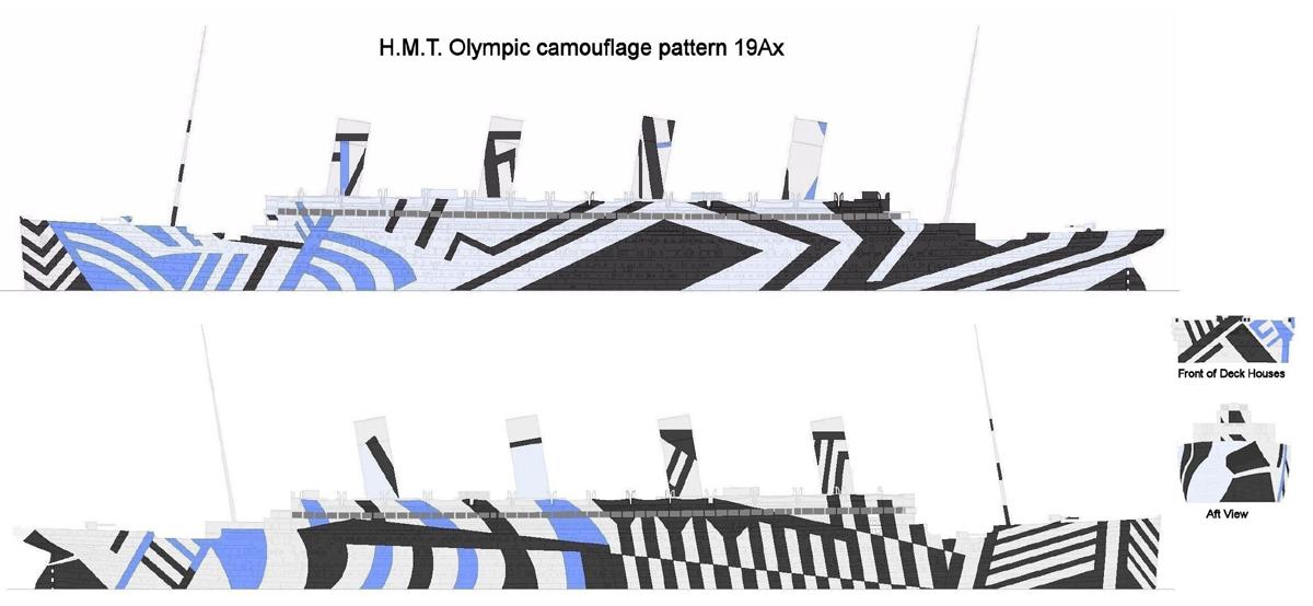 RMS Olympic Camo1910