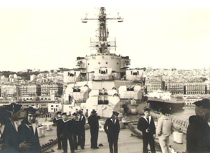 Croiseur Colbert 1959 avant refonte. Colber11