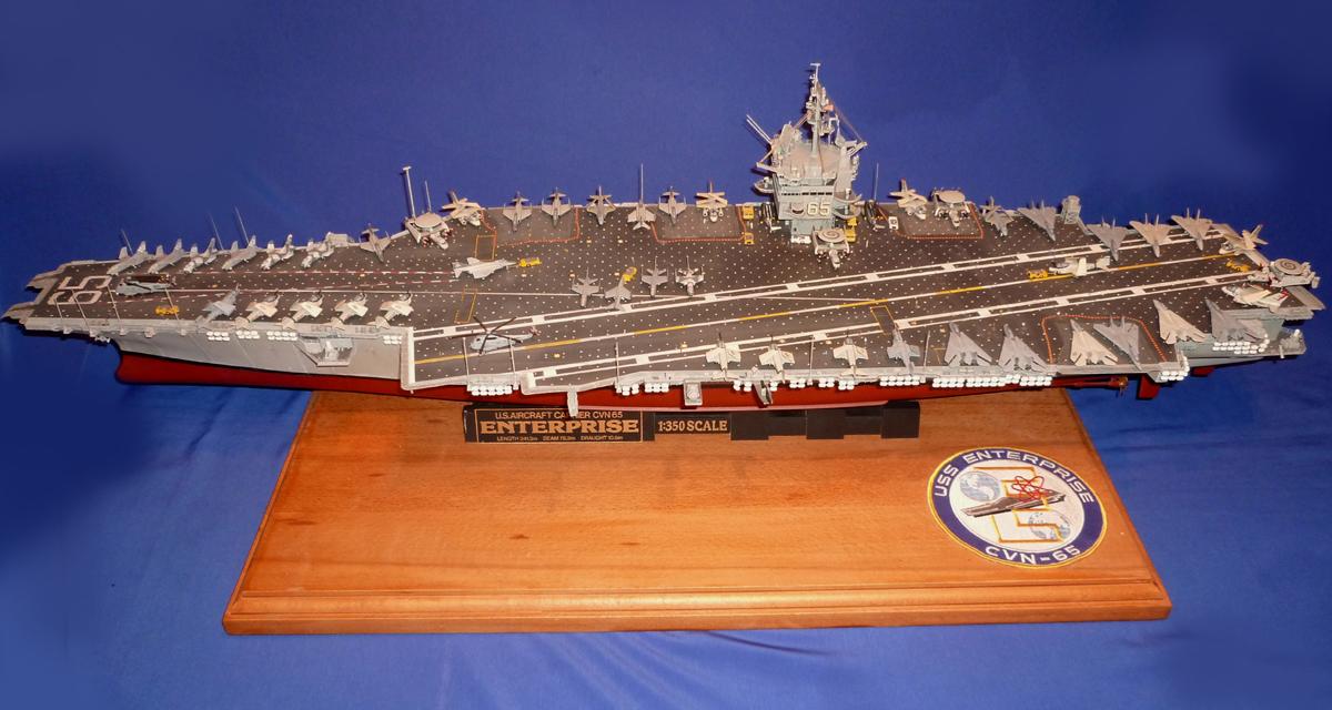 USS ENTERPRISE 1/350 UPGRADED! Enterp12