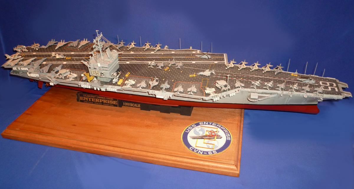 USS ENTERPRISE 1/350 UPGRADED! Enterp13