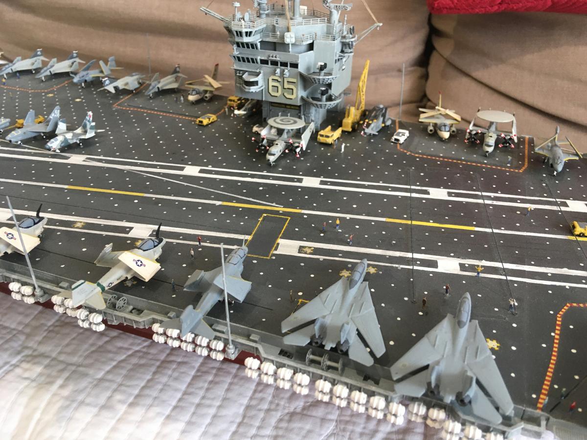 USS ENTERPRISE 1/350 UPGRADED! Enterp20
