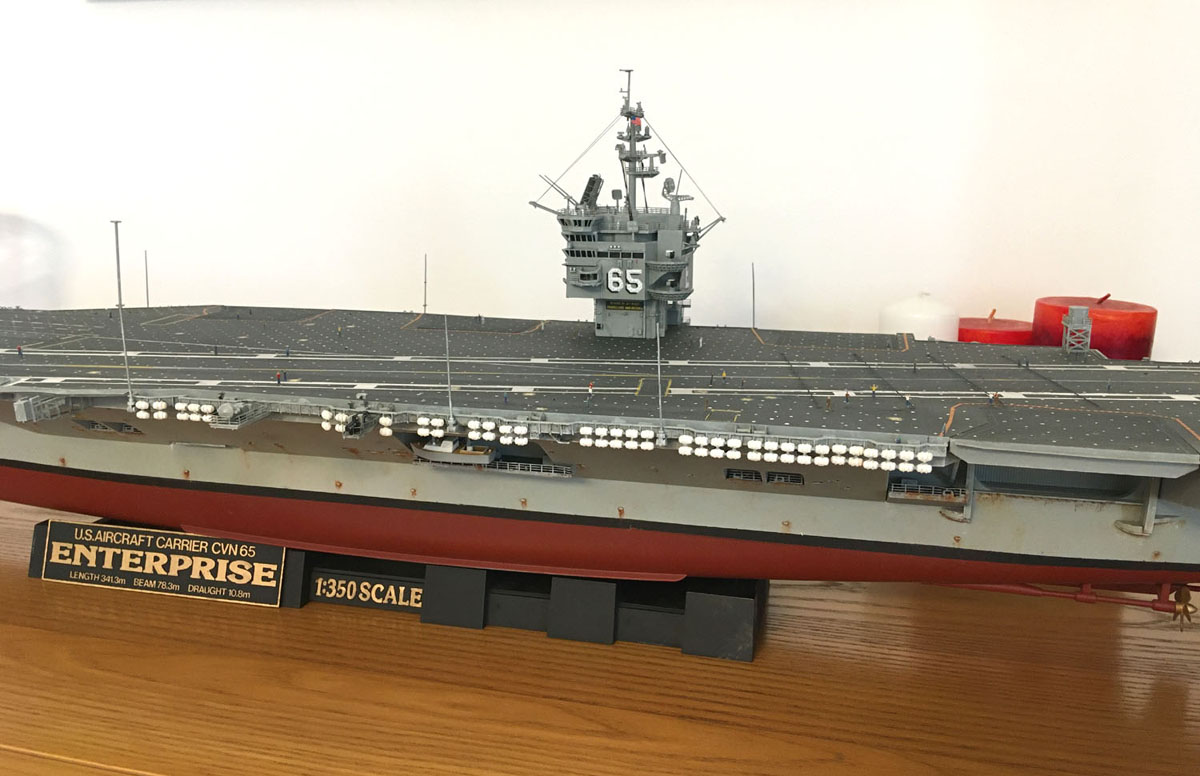 USS ENTERPRISE 1/350 UPGRADED! - Page 3 Enterp53